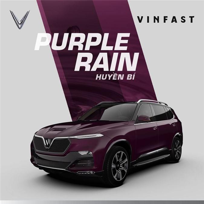 VinFast President màu tím.