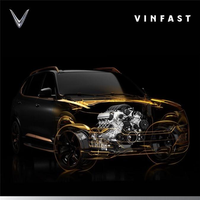 Hình ảnh mới nhất về động cơ của VinFast President .