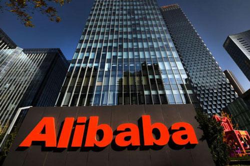 Bên ngoài Trụ sở chính của Tập đoàn Alibaba tại Bắc Kinh, Trung Quốc. Ảnh: Getty.