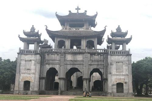 Kiệt tác Phương Đình trong quần thể kiến trúc nhà thờ đá Phát Diệm