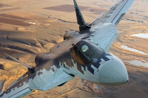 Trí tuệ nhân tạo của Nga chưa thể giúp Su-57 phiên bản không người lái đủ năng lực chiến đấu thực thụ. Ảnh: Avia-pro
