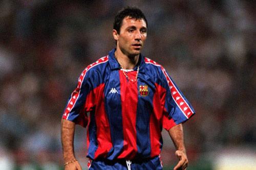 1. Hristo Stoichkov - (Thời gian thi đấu: 1990-1995, 1996-1998).