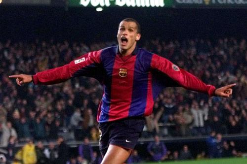 10. Rivaldo - Thời gian thi đấu từ 1997 đến 2002.