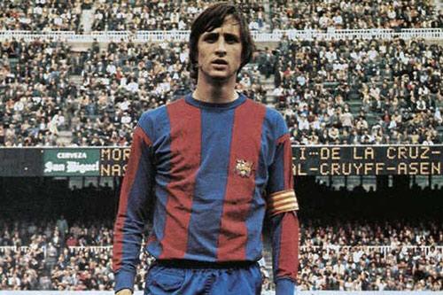 3. Johan Cruyff - (Thời gian thi đấu từ 1973 đến1978).