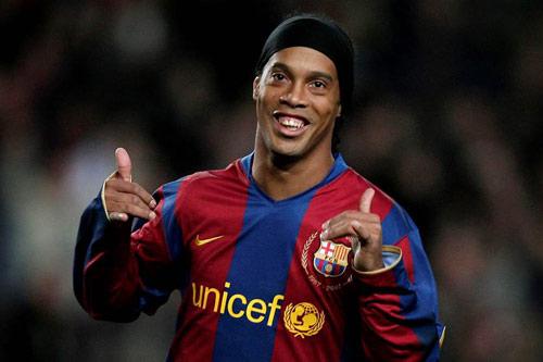 4. Ronaldinho - (Thời gian thi đấu từ 2003 đến 2008).