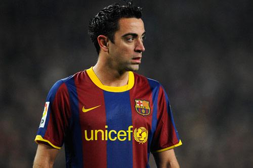 6. Xavi - Thời gian thi đấu từ 1998 đến 2015.