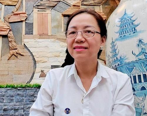 Luật sư Trung Thị Kim Anh.