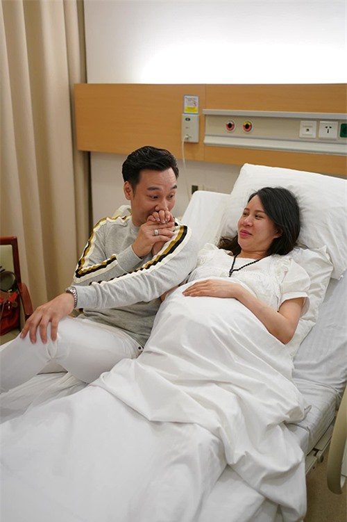 Ngọc Hương, vợ MC Thành Trung lên chức mẹ hồi tháng 12/2019 khi cặp song sinh Goku và Daino chào đời. Hai cậu nhóc tên thật Chính Chân và Hiểu Nhân, lúc đó lần lượt nặng 3,34 kg và 3,38 kg.