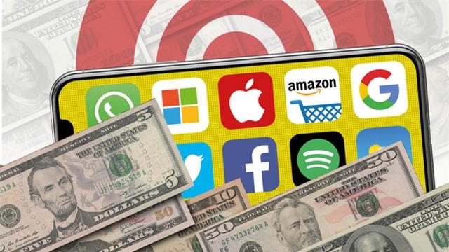 Giá trị các công ty công nghệ Mỹ lớn hơn thị trường chứng khoán châu Âu - Ảnh 1.