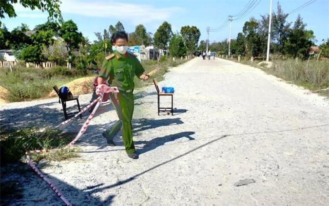 Mâu thuẫn trong lúc nhậu, một công nhân bị chém chết ở Quảng Nam