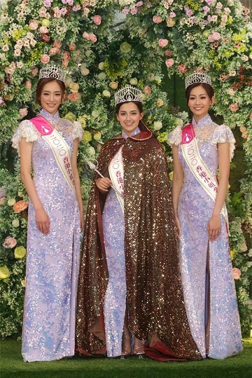 Ba nhan sắc nổi bật nhất của Hoa hậu Hong Kong 2020.
