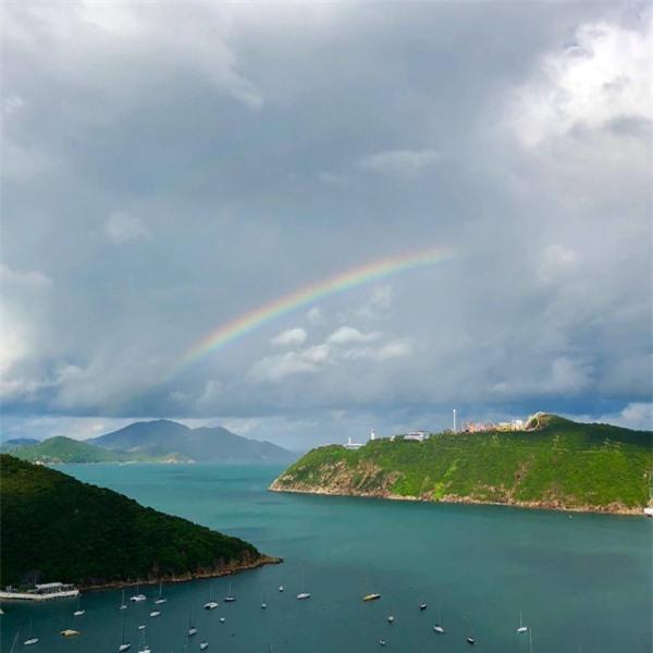 Tầm nhìn tuyệt đẹp từ nhà Trương Trí Lâm.