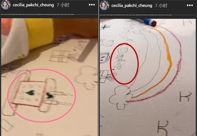 Những bức vẽ được Bá Chi đăng tải, trùng hợp sinh nhật Tạ Đình Phong.