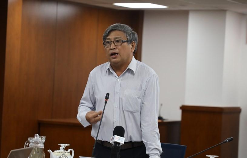 Bác sĩ Nguyễn Văn Hảo,Trưởng khoa cấp cứu hồi sức tích cực chống độc người lớn, Bệnh viện Nhiệt đới TP.HCM. (Ảnh: KM)
