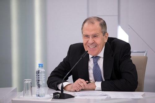Ông Sergei Lavrov.