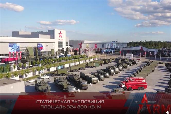 Quân đội Nga trình diễn hàng loạt khí tài hiện đại tại Diễn đàn Army-2020 - ảnh 1