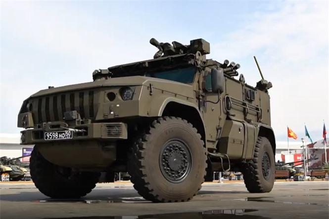 Quân đội Nga trình diễn hàng loạt khí tài hiện đại tại Diễn đàn Army-2020 - ảnh 7