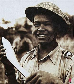 Một 'Gurkha' cùng con dao Kukri huyền thoại