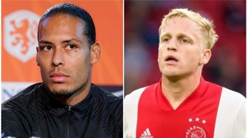 Van Dijk nói gì về vụ Van de Beek sang Man United?