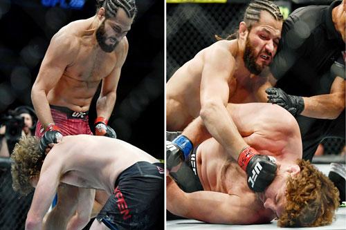 Jorge Masvidal hạ knock-out Ben Askren chỉ sau 5 giây thi đấu.
