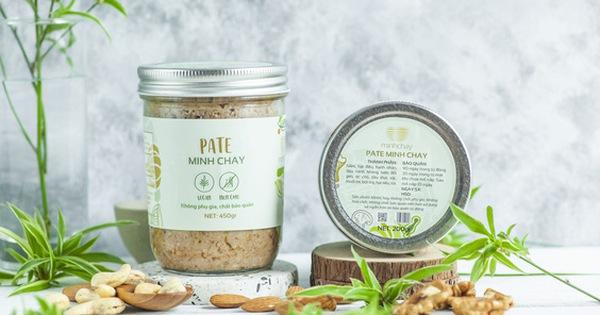 Sản phẩm Pate Minh Chay bán trên mạng.