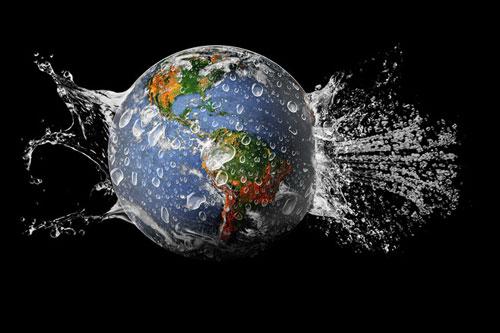Nước chiếm 70% diện tích Trái Đất và là thành phần không thể thiếu của nhiều sinh vật sống. Ảnh: Internet
