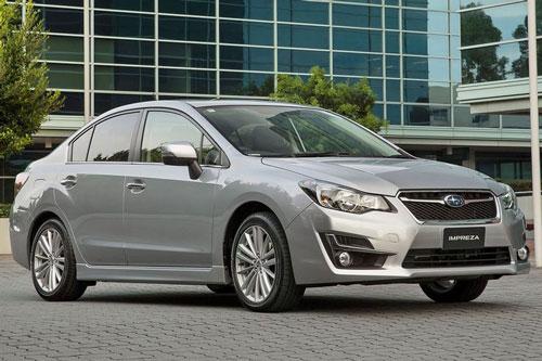 Subaru Impreza 2016.