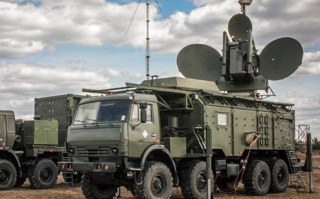 Hệ thống tác chiến điện tử Krasukha-4 của Nga. Ảnh: Avia-pro.