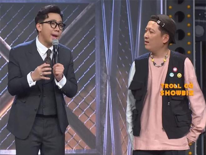 Chúc thí sinh Trường Giang làm nên chuyện tại Rap Việt, Karik tự đăng tự cười không nhặt được mồm - Ảnh 2.