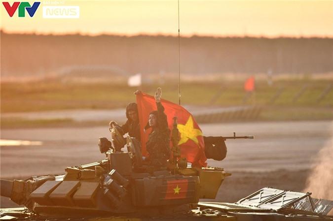 [Ảnh] Đụng ĐT Myanmar ở bán kết, ĐT Xe tăng QĐND Việt Nam tự tin tranh tài - Ảnh 12.