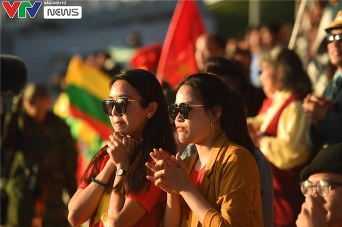 [Ảnh] Đụng ĐT Myanmar ở bán kết, ĐT Xe tăng QĐND Việt Nam tự tin tranh tài - Ảnh 7.