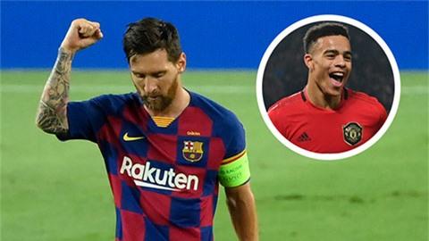 Greenwood háo hức so tài với Messi ở Ngoại hạng Anh
