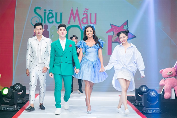 HHen Niê cùng Nguyễn Hưng Phúc chấm siêu mẫu nhí - 10