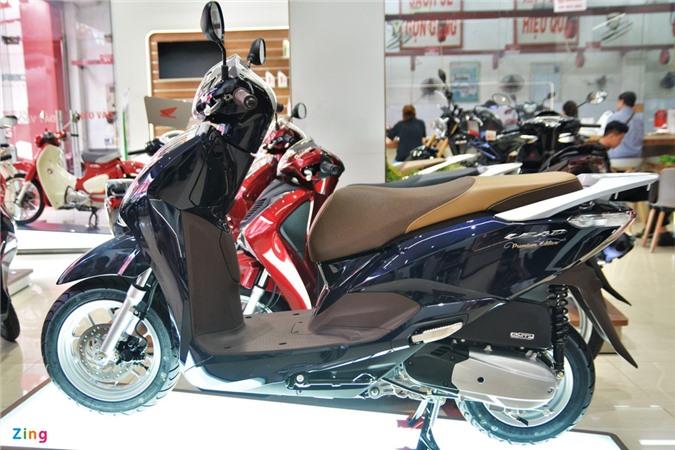 Mua xe ga nu 125 cc chon Honda Lead hay Yamaha Grande? anh 9