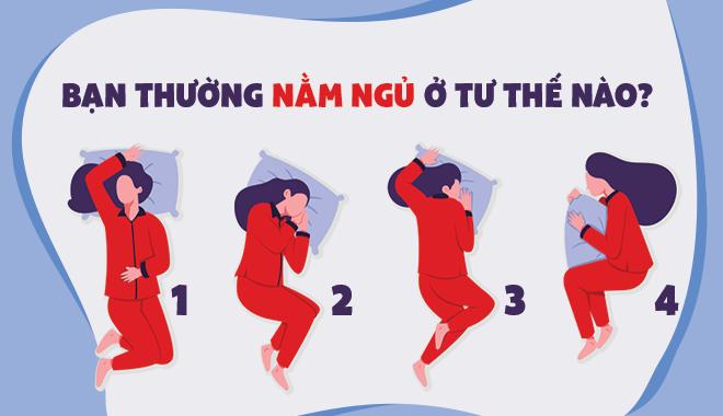 Tư thế ngủ của bạn là gì?