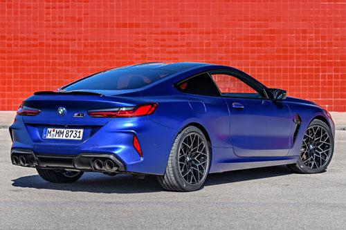 10. BMW M8 Competition 2020 (thời gian tăng tốc từ 0-100 km/h: 3,3 giây).