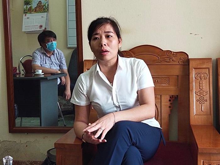 Bà Vũ Thị Thúy Hồng, Phó Giám đốc Trung tâm Kỹ thuật tổng hợp – Hướng nghiệp tỉnh Phú Thọ.