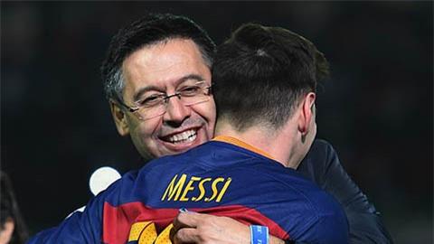 Bartomeu bị điều tra, Messi hoãn quyết định chốt tương lai