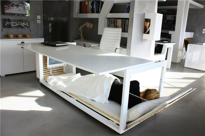 Giải pháp cho không gian chật hẹp: Thiết kế nội thất đa chức năng giúp tiết kiệm diện tích vô cùng sáng tạo - Ảnh 2.