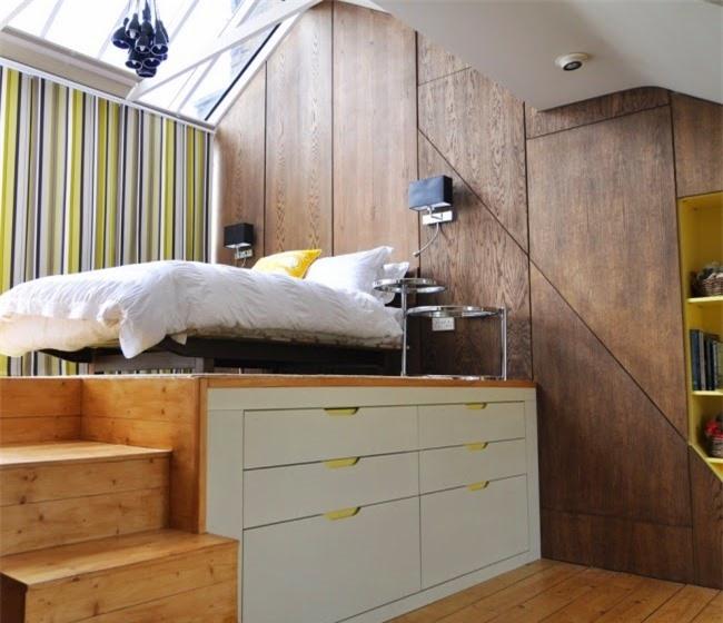 Giải pháp cho không gian chật hẹp: Thiết kế nội thất đa chức năng giúp tiết kiệm diện tích vô cùng sáng tạo - Ảnh 11.