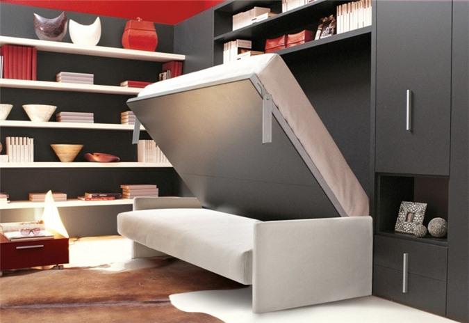 Giải pháp cho không gian chật hẹp: Thiết kế nội thất đa chức năng giúp tiết kiệm diện tích vô cùng sáng tạo - Ảnh 12.