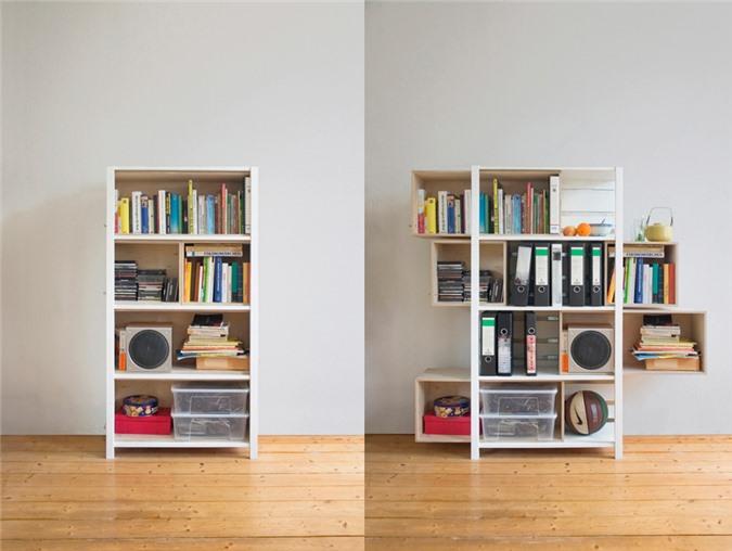 Giải pháp cho không gian chật hẹp: Thiết kế nội thất đa chức năng giúp tiết kiệm diện tích vô cùng sáng tạo - Ảnh 14.