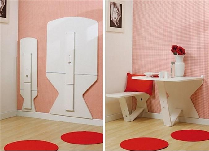 Giải pháp cho không gian chật hẹp: Thiết kế nội thất đa chức năng giúp tiết kiệm diện tích vô cùng sáng tạo - Ảnh 6.