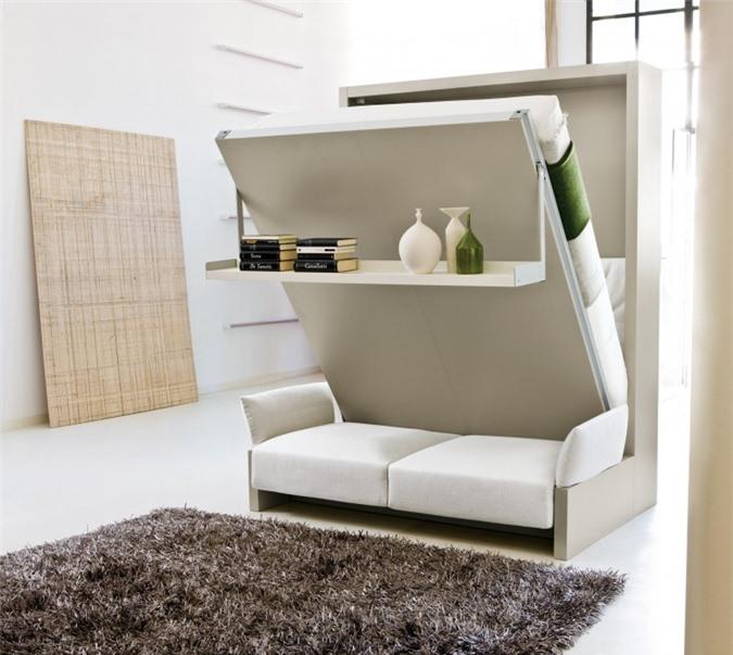 Giải pháp cho không gian chật hẹp: Thiết kế nội thất đa chức năng giúp tiết kiệm diện tích vô cùng sáng tạo - Ảnh 7.