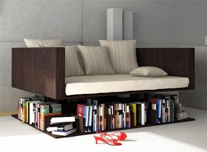 Giải pháp cho không gian chật hẹp: Thiết kế nội thất đa chức năng giúp tiết kiệm diện tích vô cùng sáng tạo - Ảnh 8.