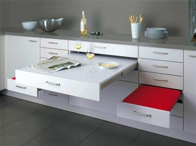 Giải pháp cho không gian chật hẹp: Thiết kế nội thất đa chức năng giúp tiết kiệm diện tích vô cùng sáng tạo - Ảnh 9.