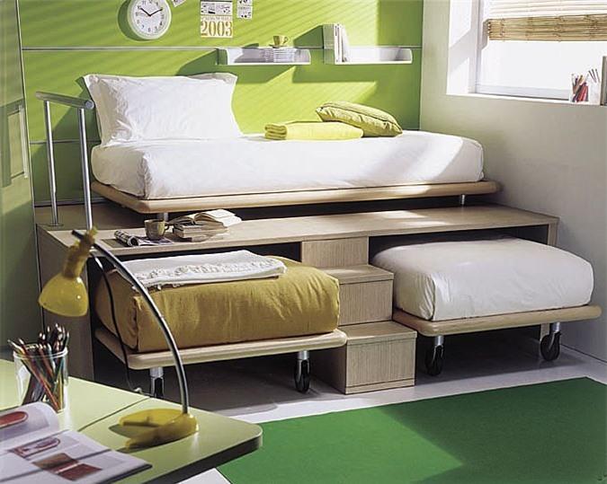 Giải pháp cho không gian chật hẹp: Thiết kế nội thất đa chức năng giúp tiết kiệm diện tích vô cùng sáng tạo - Ảnh 10.