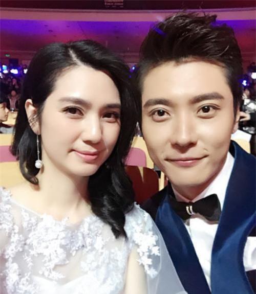 Hồng Hân và chồng, Trương Đan Phong.