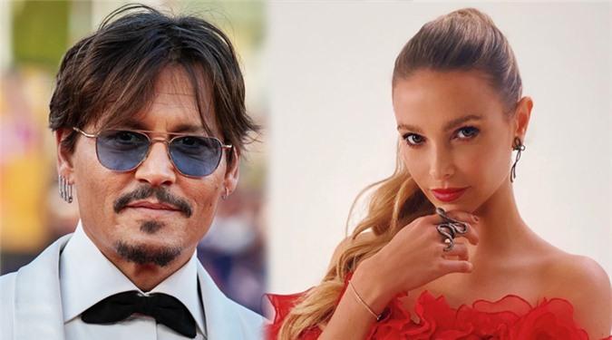 Johnny Depp và người đẹp Sophie Hermann.