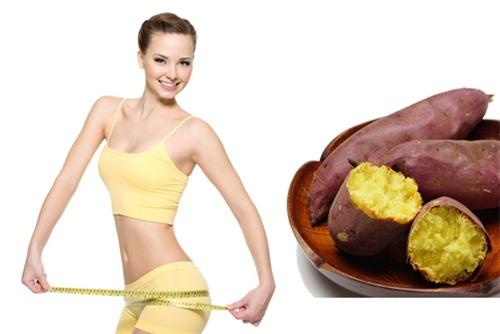 Thực đơn ăn khoai lang giúp giảm cân